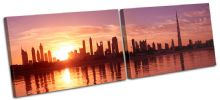 Dubai Skyline Sunset City - 13-1873(00B)-MP14-LO